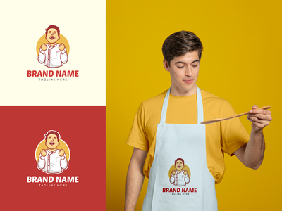 Food Logo Branding | For Sale cooking cooking logo chef logo chef fun logo food logo