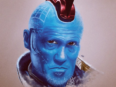 Yondu painting digital painting procreate digital drawing drawing digitalart digital illustration digital yondu marvel mcu art illustration