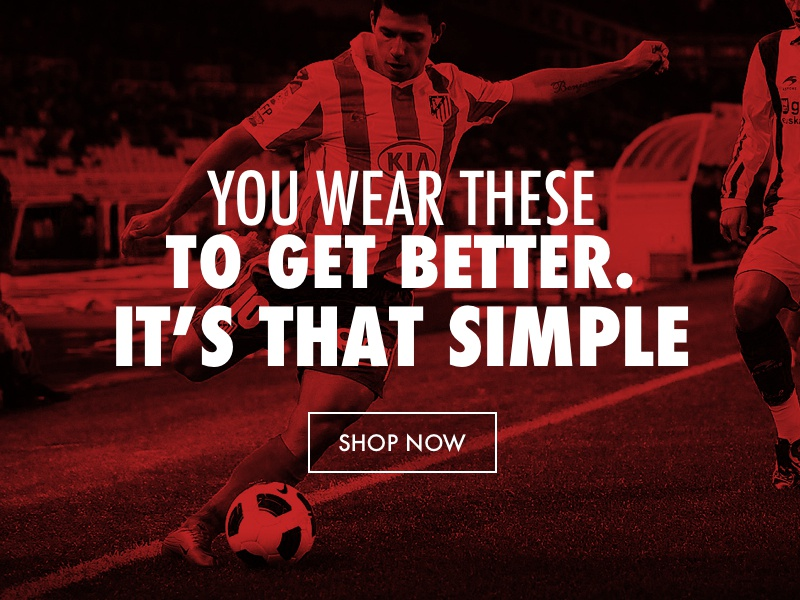 Under Armour Concept sports soccer red overlay under armour homepage ecommerce shop store product