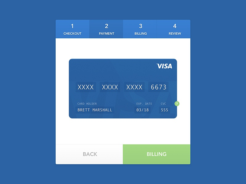 Daily UI #2 framer animation card payment visa credit card cart checkout dailyui