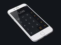 Daily UI #4 - Calculator