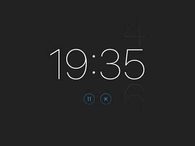 Daily UI #14 - Countdown Timer minimal san francisco countdown timer dailyuichallenge dailyui