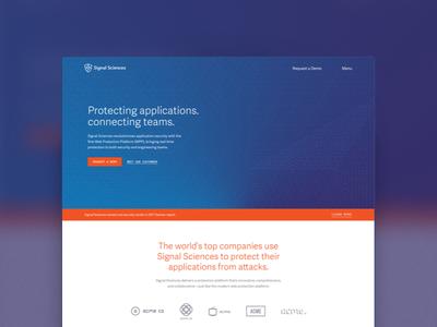 Security Client Marketing Site