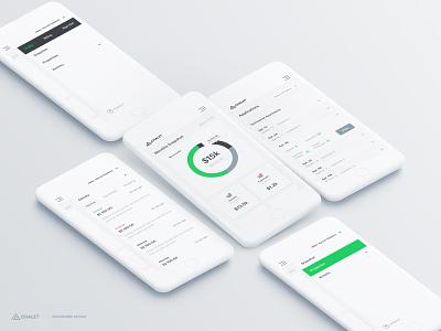 Dashboard Design mobile dashboard ux ui