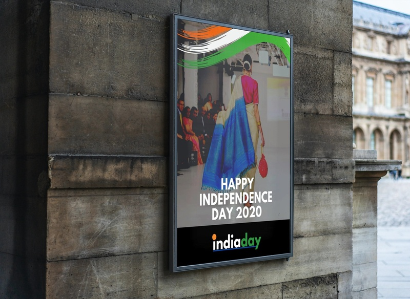 Indian Independence Day 2020 fashion brand fashion design logo design logodesign poster a day poster art logo poster design poster