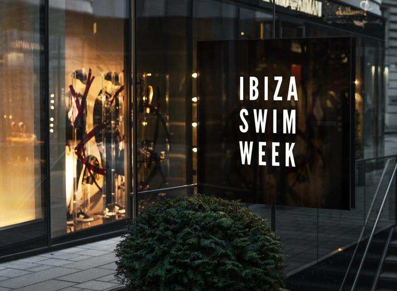 Logo Design - Ibiza Swim Week fashionweek swimweek swimwear ibiza fashion show fashion brand design branding and identity logo design logodesign branding logo