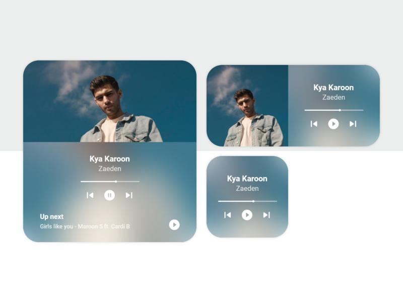 IOS 14 Music Widget - Concept Design widgets music app ios app music ios14 widget ios