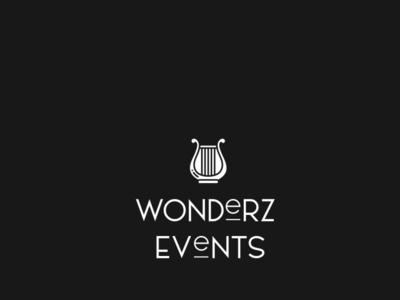 Wonderz Events Logo event branding events branding logo