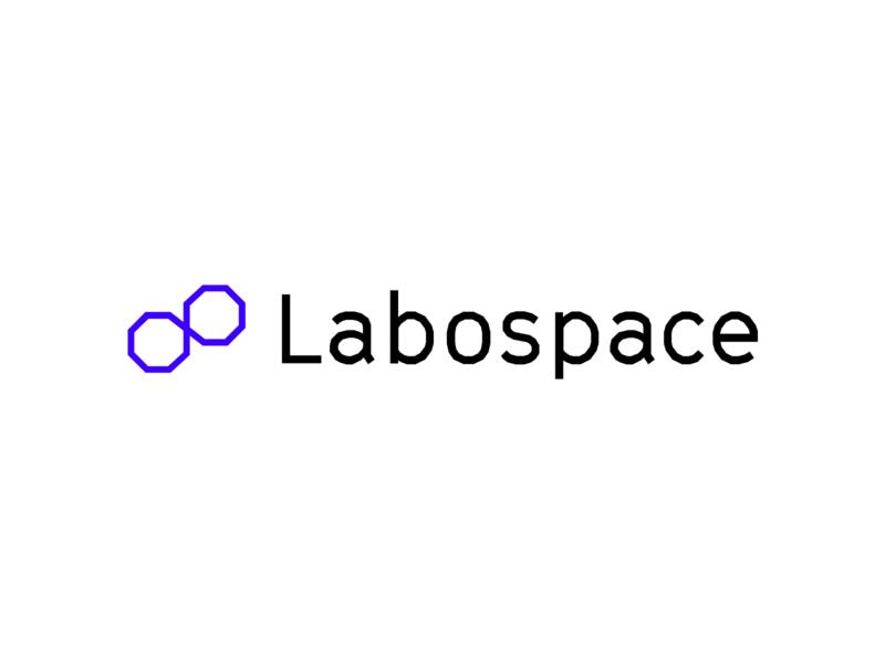 Labospace Logo & Branding Applications science branding