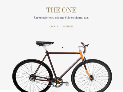 Product roulette interactive interaction web design ecommerce cycling bicycle