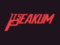 T-shirt Design - It's Peakum