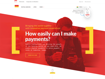 Digi Bank banking freebies indian bank web design digital payment banking website