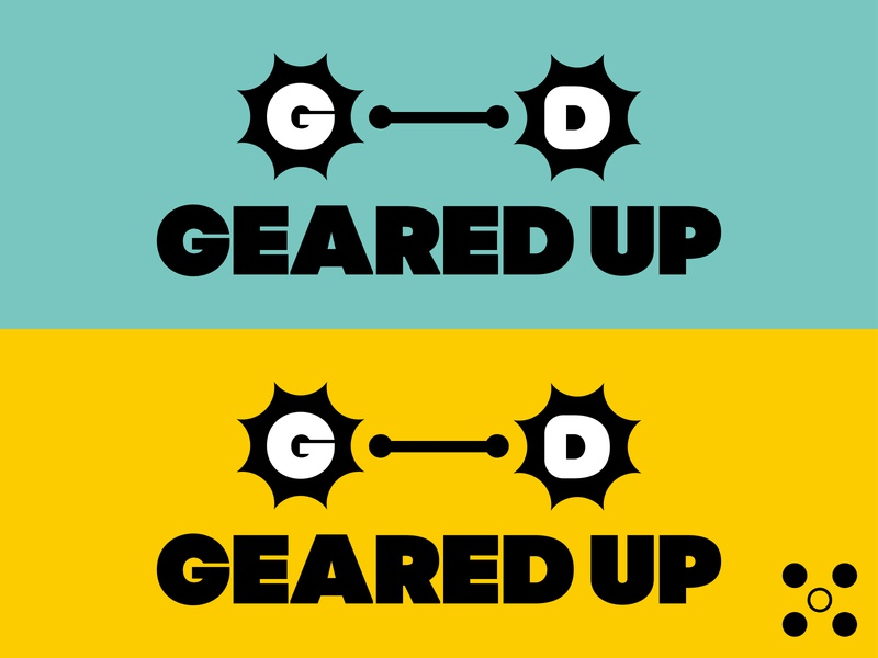 GeareD up (bicycle logo) stayhome creative logo adobe illustrator graphic dailylogo dailylogochallenge bicycle shop bicycle logo bicycle logodesign typography logo brand identity brand branding