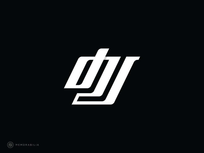 jdi creative logo monogram logo dji monogram logos simple designlogo minimalist logodesign flat branding design branding and identity branding adobe illustrator