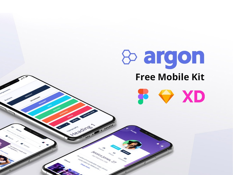 Argon Mobile UI Kit