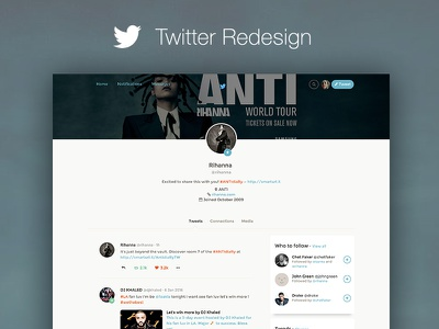 Twitter Redesign ui kit bootstrap twitter redesign redesign twitter