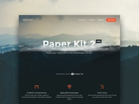 Paper Kit PRO 2 - Bootstrap 4 coming soon
