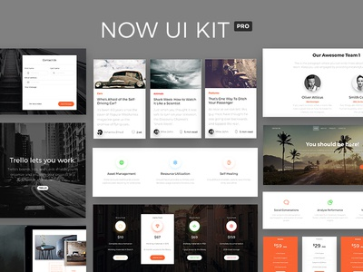 Now UI Kit PRO - Premium Bootstrap 4 UI Kit