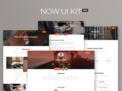 Now UI Kit PRO - Premium Bootstrap 4 UI Kit