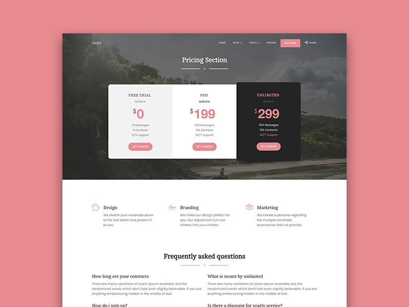 Basic PowerPoint Template | Search by Muzli