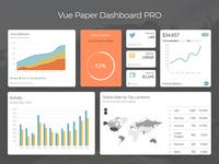 Vue Paper Dashboard Pro