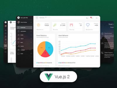 Vue Light Bootstrap Dashboard PRO ❤️ vuejs dashboard vue dashboard template admin vuejs premium bootstrap4