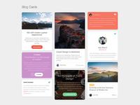 Paper Kit 2 Pro - Blog Cards