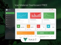 Vue Material Dashboard FREE
