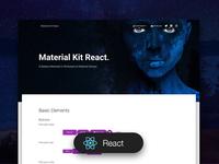 Material Kit React Free