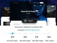 Material Kit PRO React ❤️
