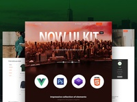 Vue Now UI Kit