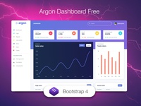 Argon Dashboard Free