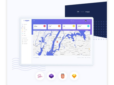 Argon Dashboard Free