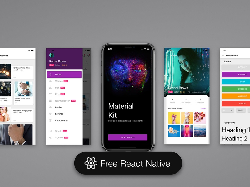 Material Kit React Native Free