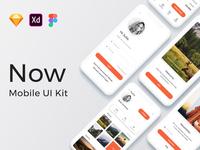 Now Mobile UI Kit