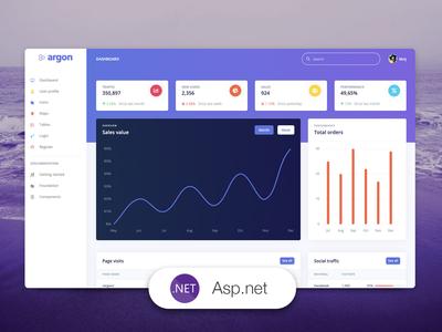 Argon Dashboard Asp.net