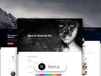 Next.js Material Kit