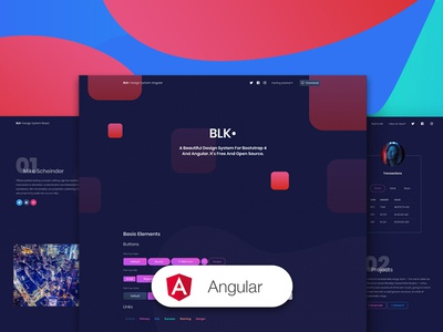 BLK Design System Angular