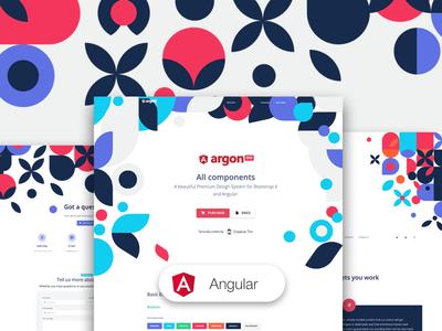 Argon Design System PRO Angular