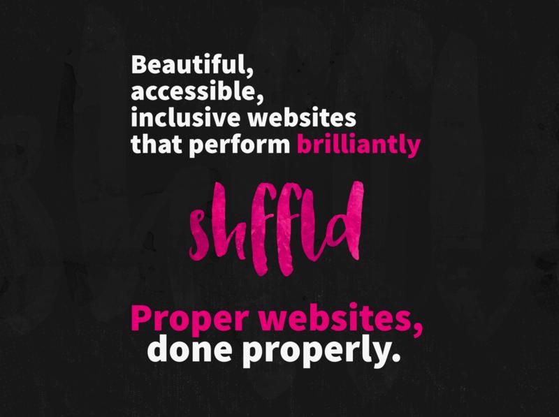 Proper websites, done properly