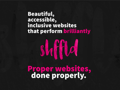 Proper websites, done properly logo grunge exploration