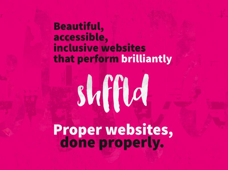 Proper websites, done properly.