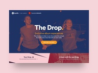 Spotify | The Drop (Pitch) – Landing