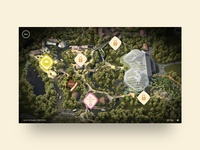 Islands at Chester Zoo – Map