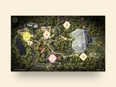 Islands at Chester Zoo – Map unlock rainforest microsite map jungle islands zoo chester