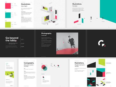 Traction Guest brand guidelines design website isometric enterprise dark contemporary visitor management minimal illustration branding brand guidelines