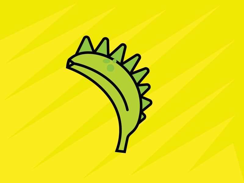 365 Banana Challenge design illustration 365 challenge