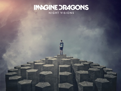 Imagine dragons LP cover cover surreal
