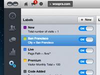 Woopra New UI