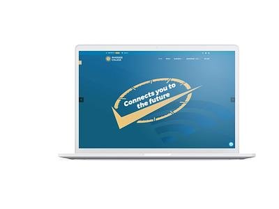 Riverside College Website minimal website typography web design agency vector illustration wordpress design webdesign blog web